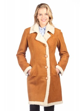 Sharon Shearling Coat