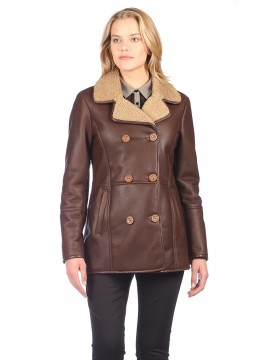 Lillian Shearling Coat