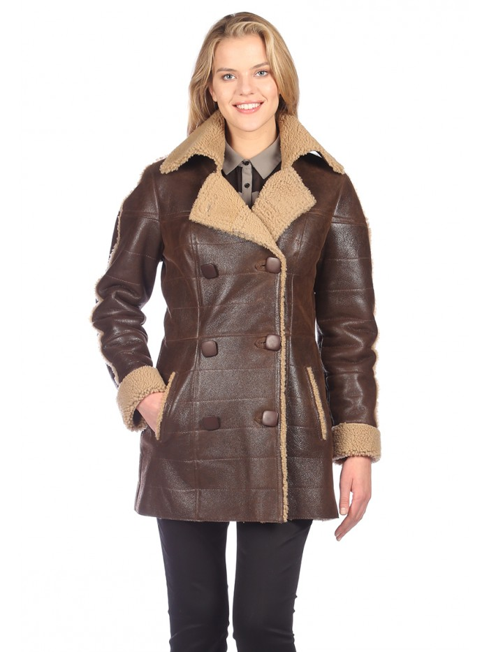 Fern Shearling Coat