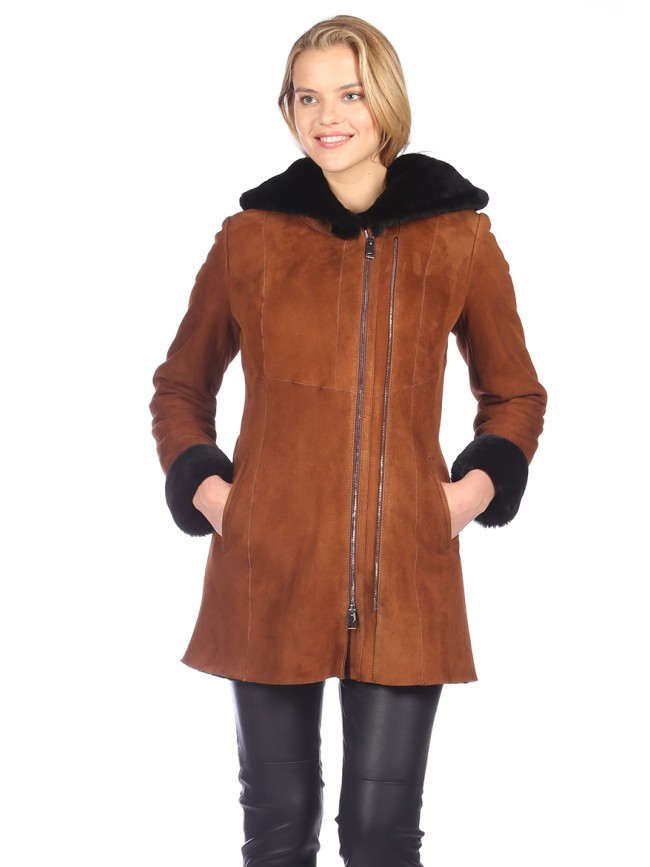Tulip Shearling Coat