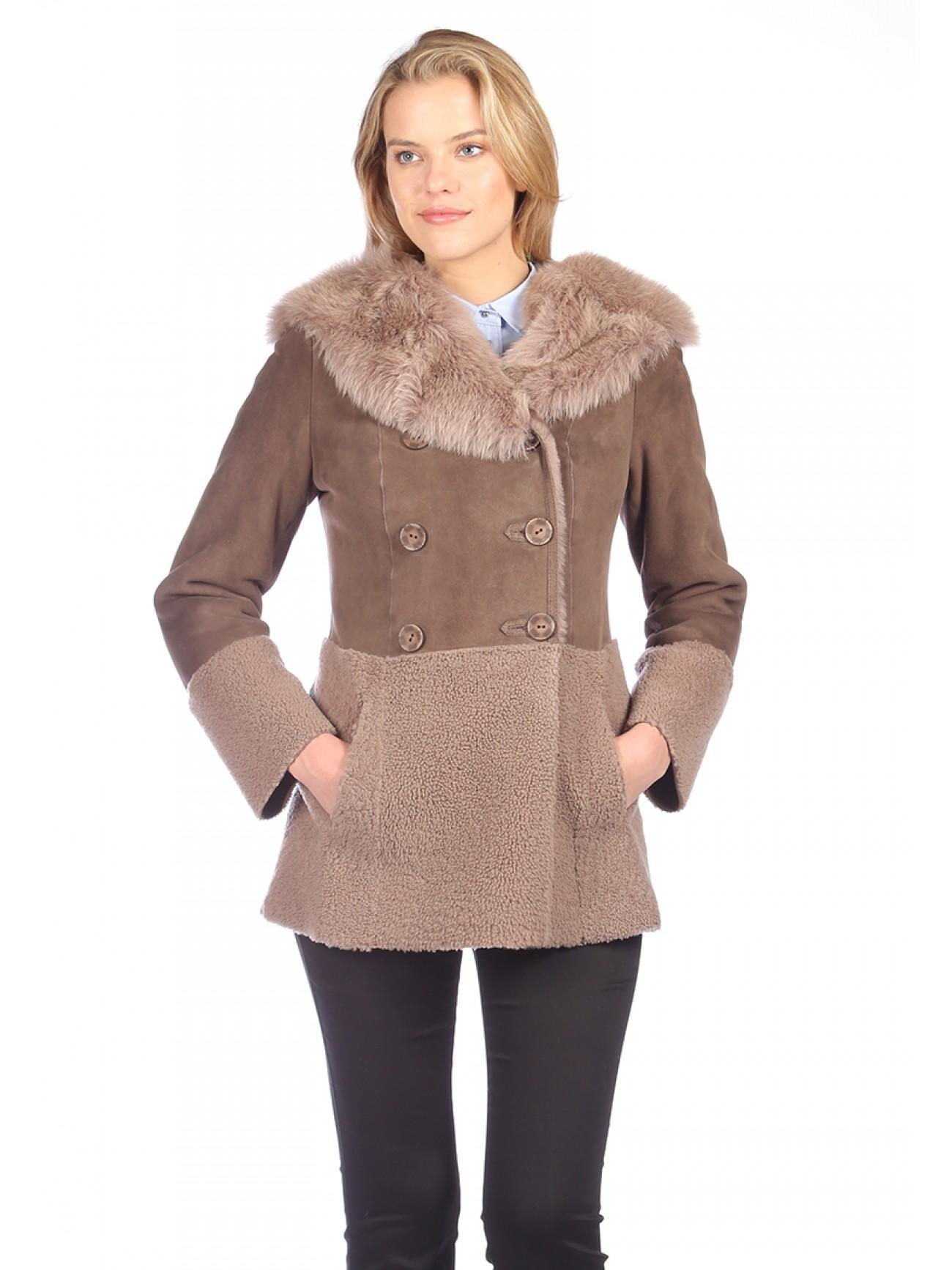 Sheepskin coats women