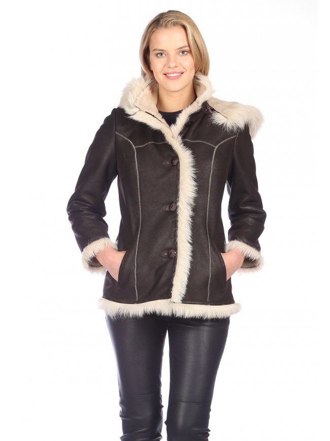Laurel Shearling Jacket