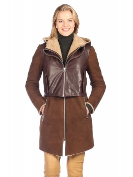 Catalina Shearling Coat