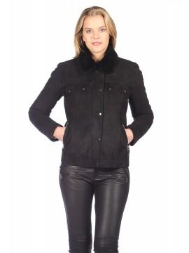 Snowflake Shearling Jacket