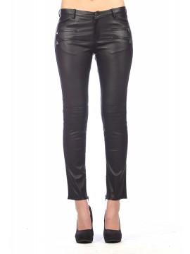 Rhoda Stretch Leather Pants