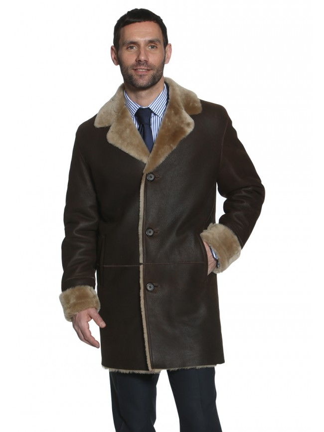 Brunswick Shearling Coat