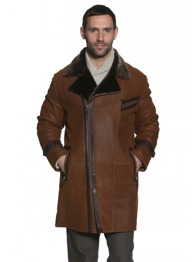 Tudor Shearling Jacket