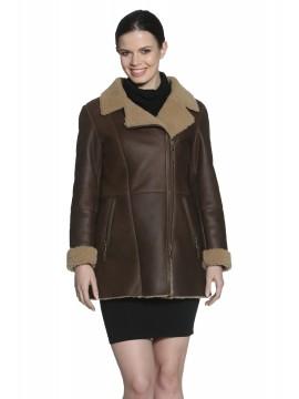 Maggie Shearling Coat