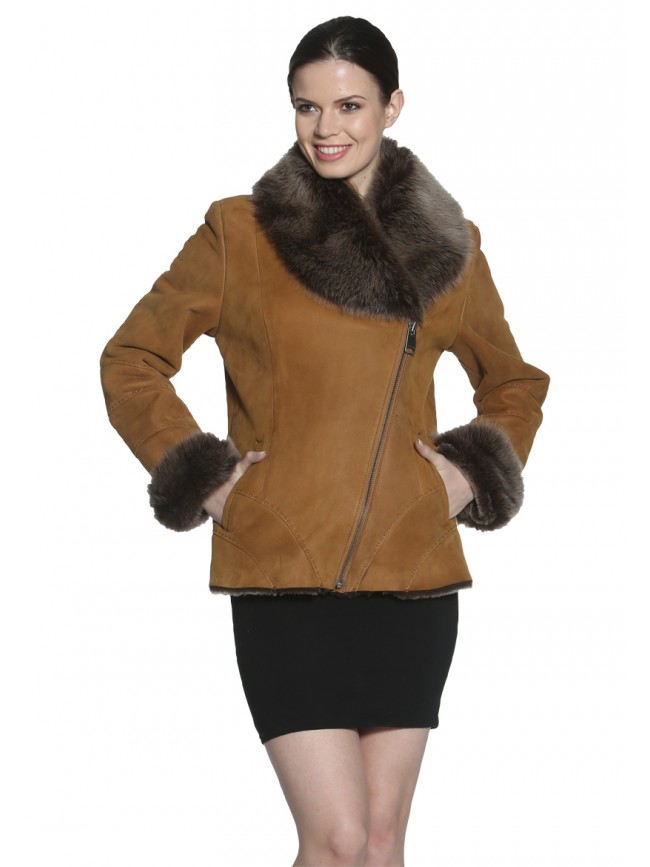 Gerbera  Shearling Jacket