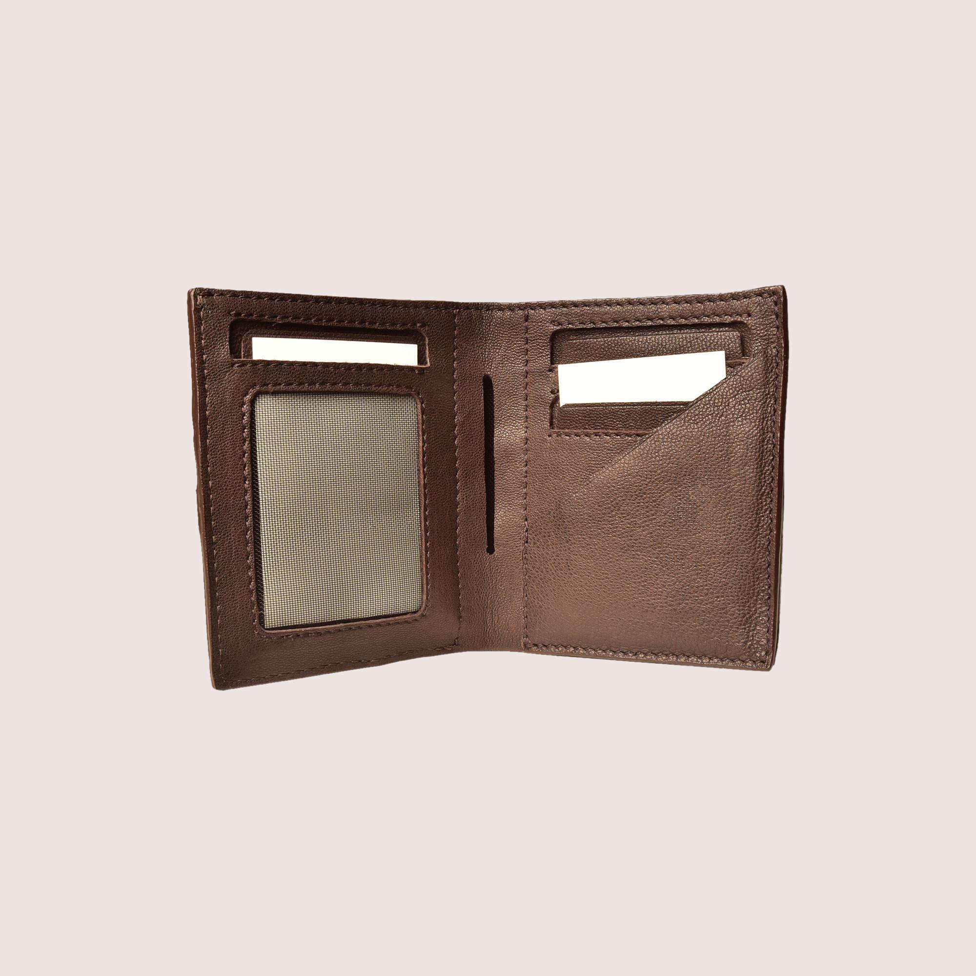 Mitchell Hand-Stitched Wallet