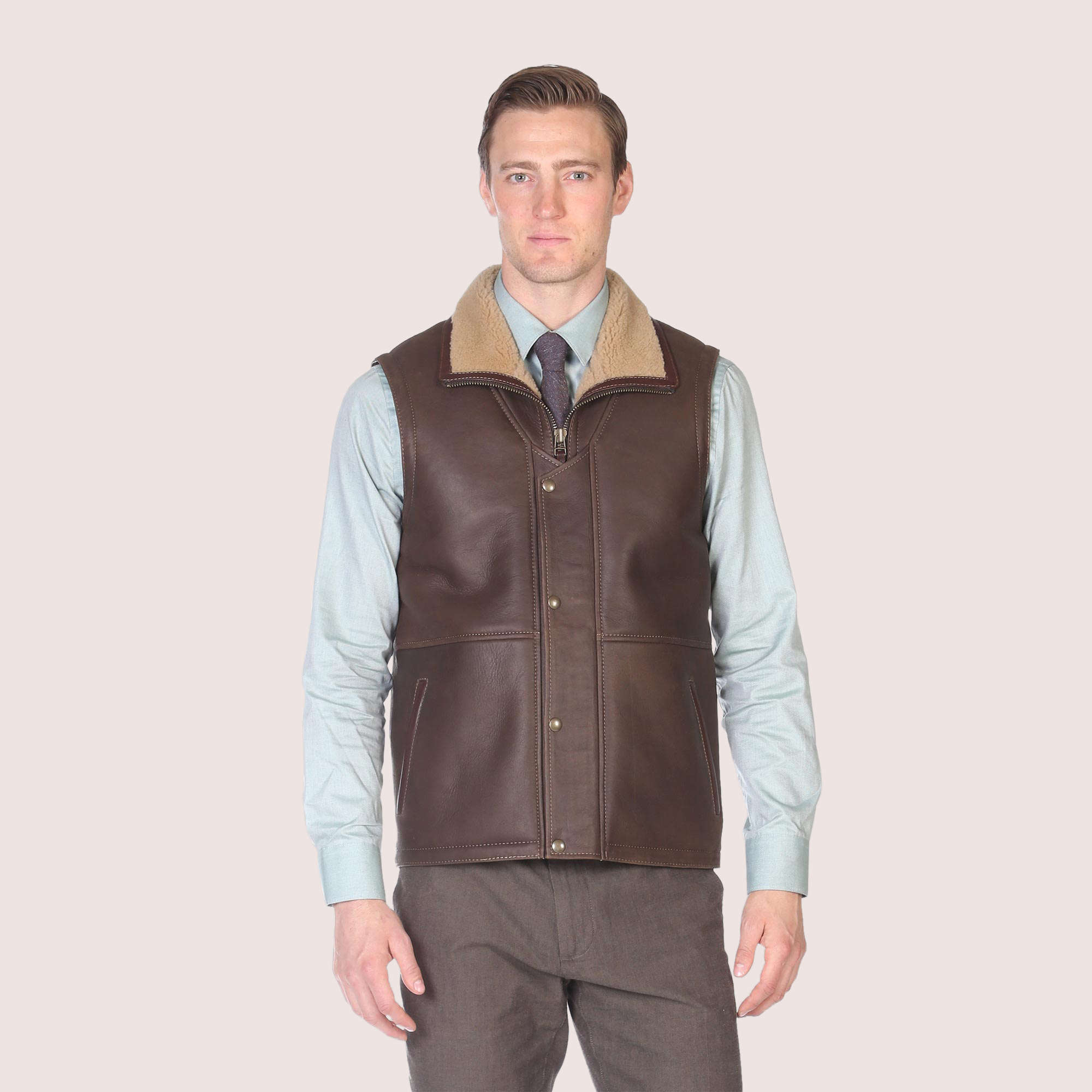 Cheshire Shearling Vest