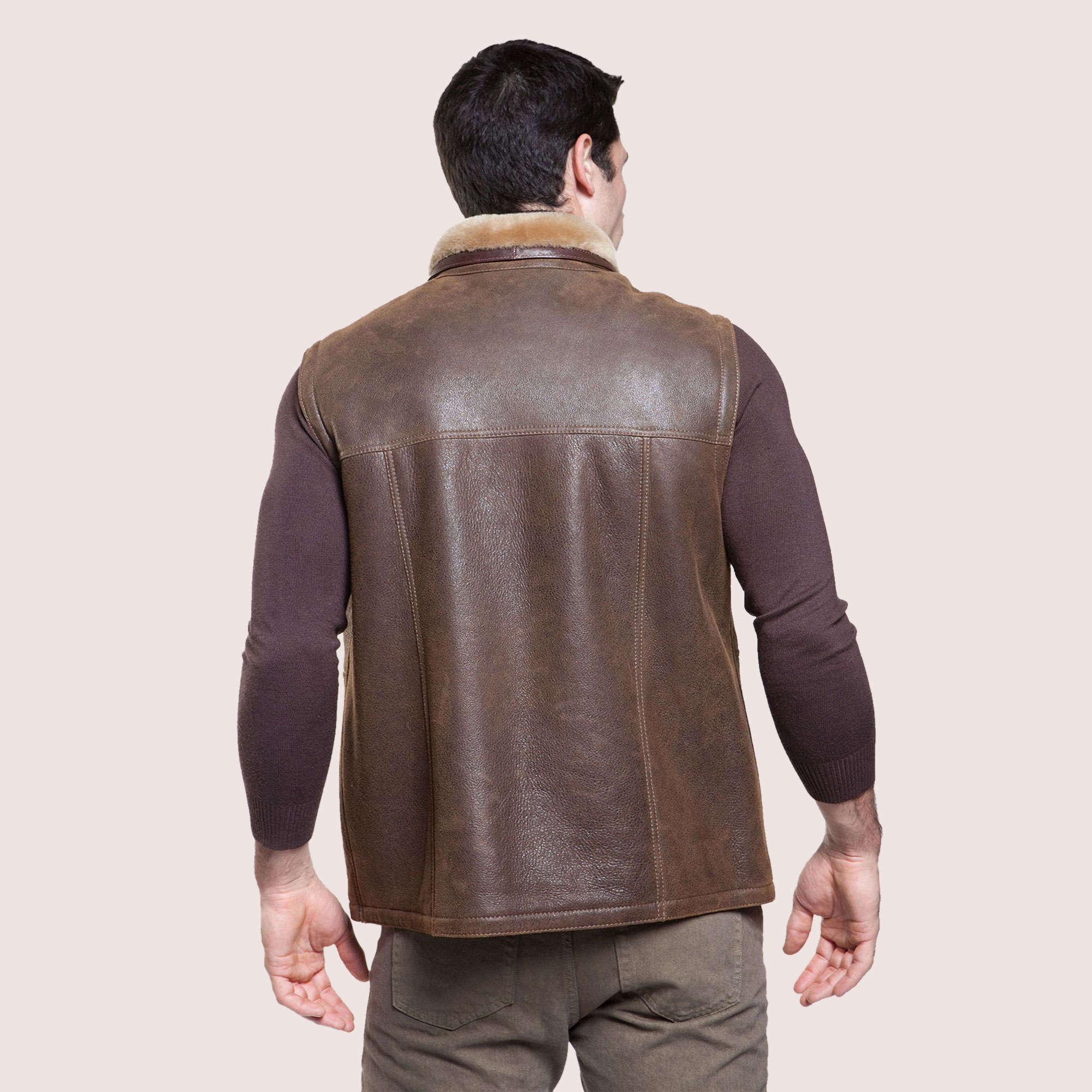 Austin Shearling Vest