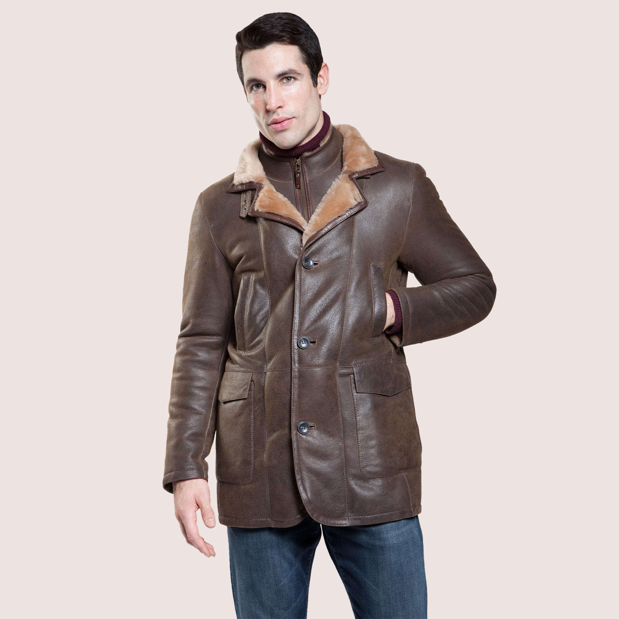 Utica Shearling Coat