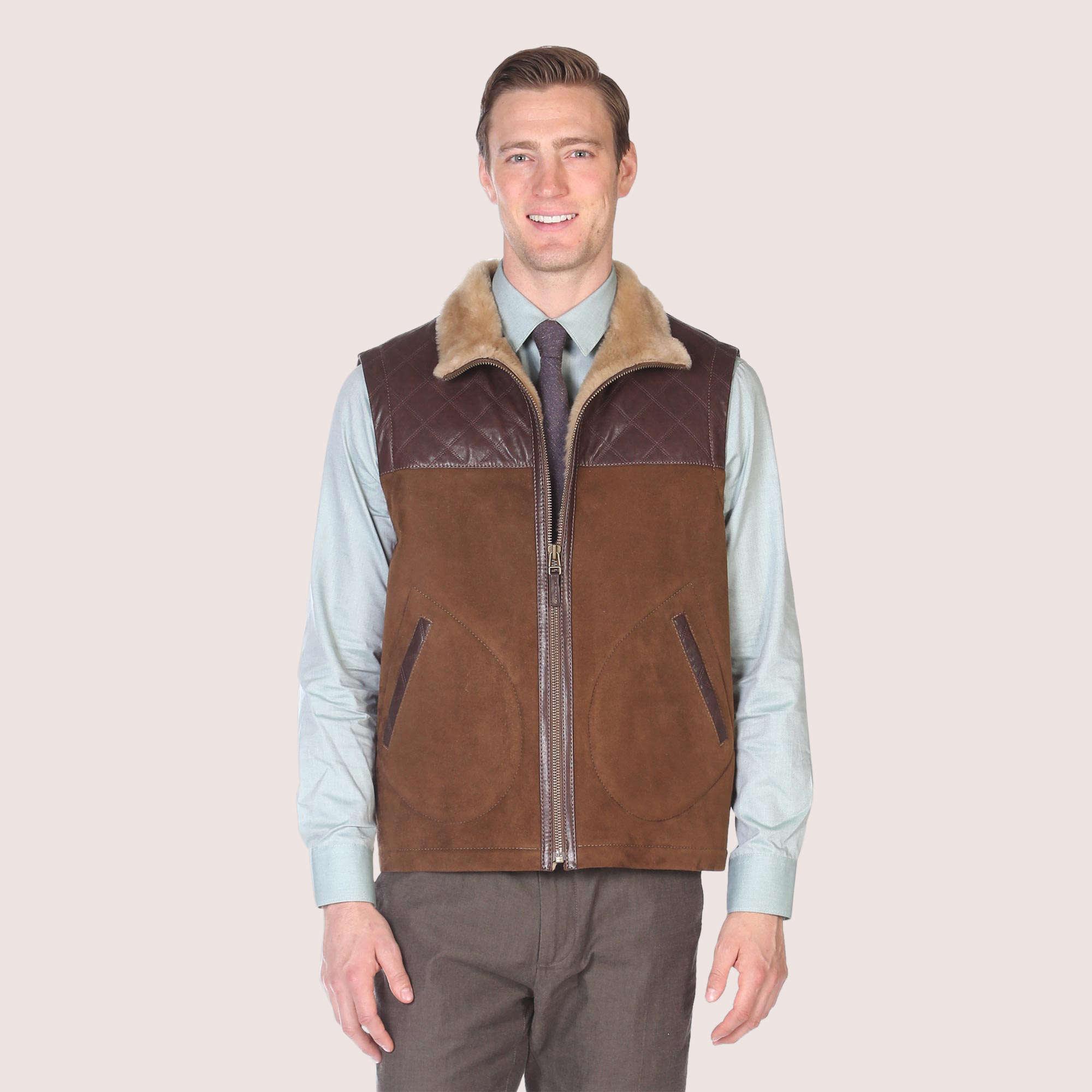 Norwich Shearling Vest
