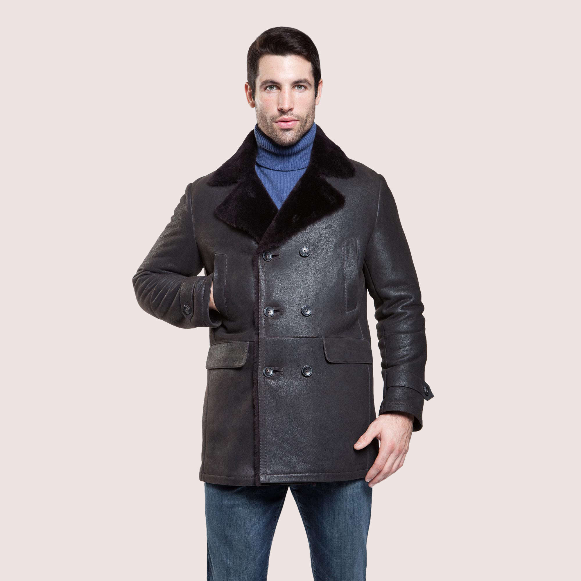 Lewis Shearling Coat