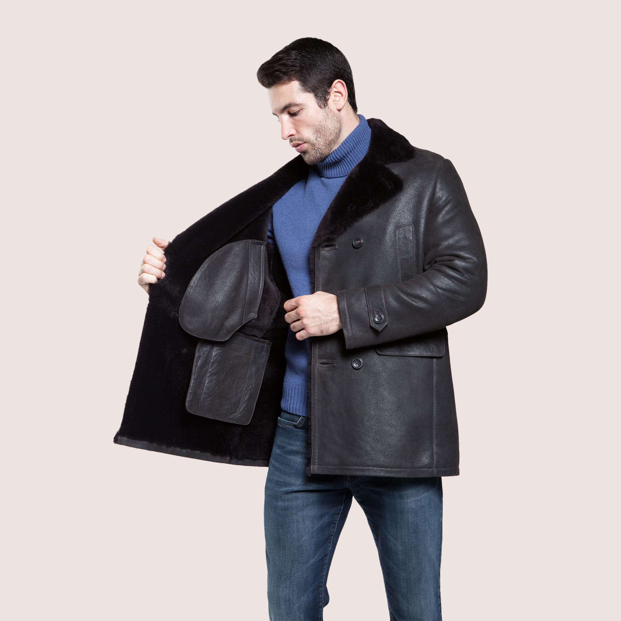 Lewis Shearling Coat