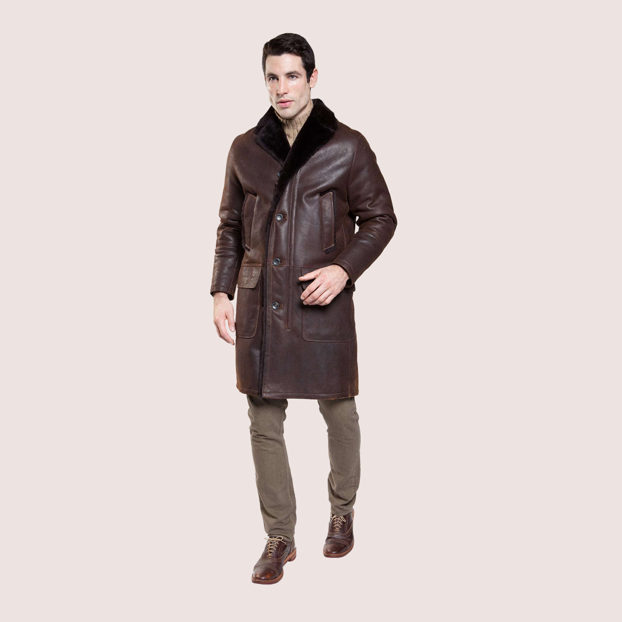 Ashland Shearling Coat