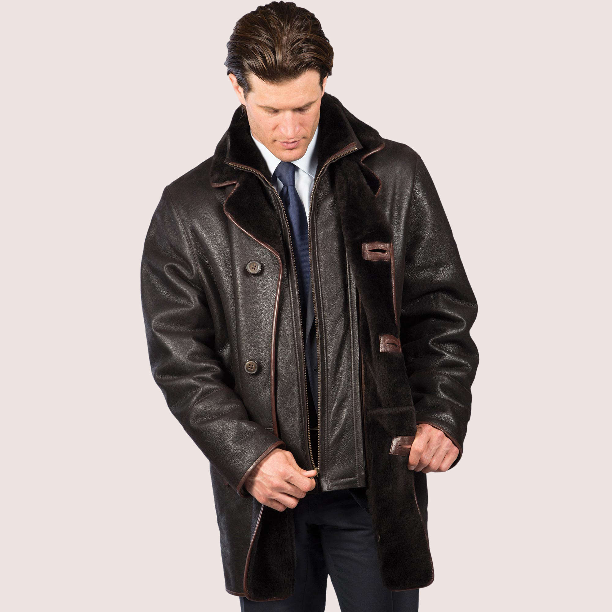 Kingston Shearling Coat
