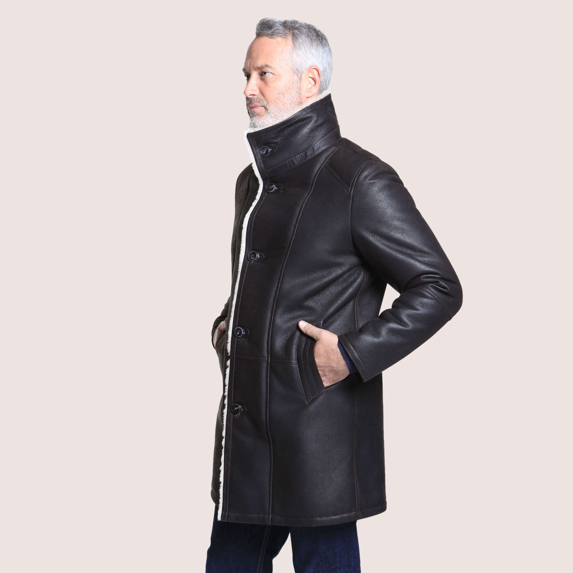 Sterling Shearling Coat