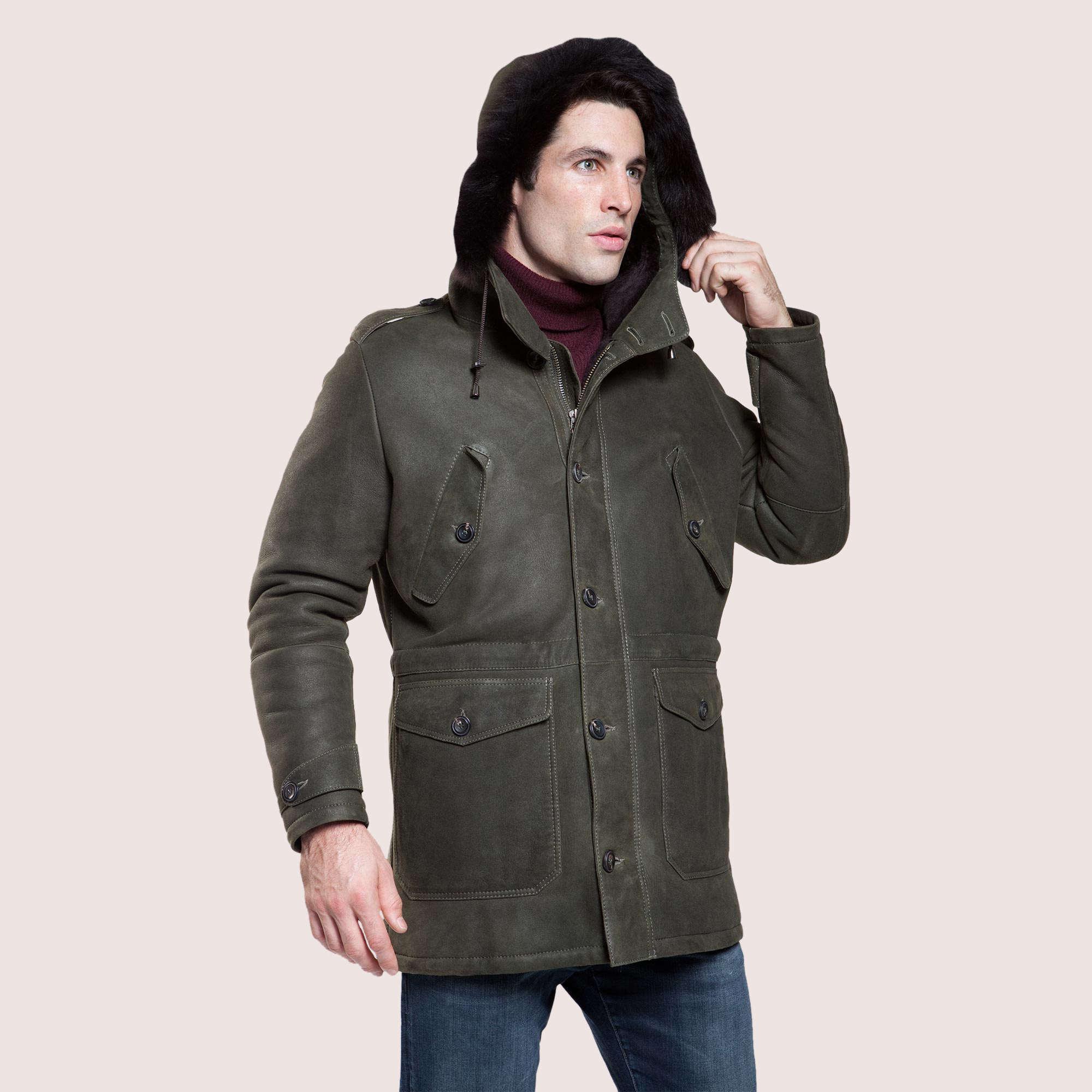 Greenwood Shearling Coat