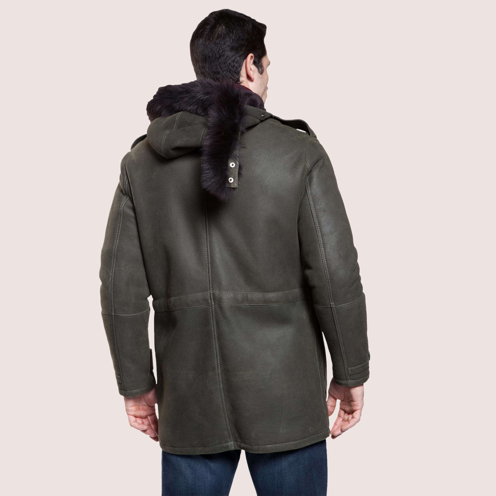 Greenwood Shearling Coat