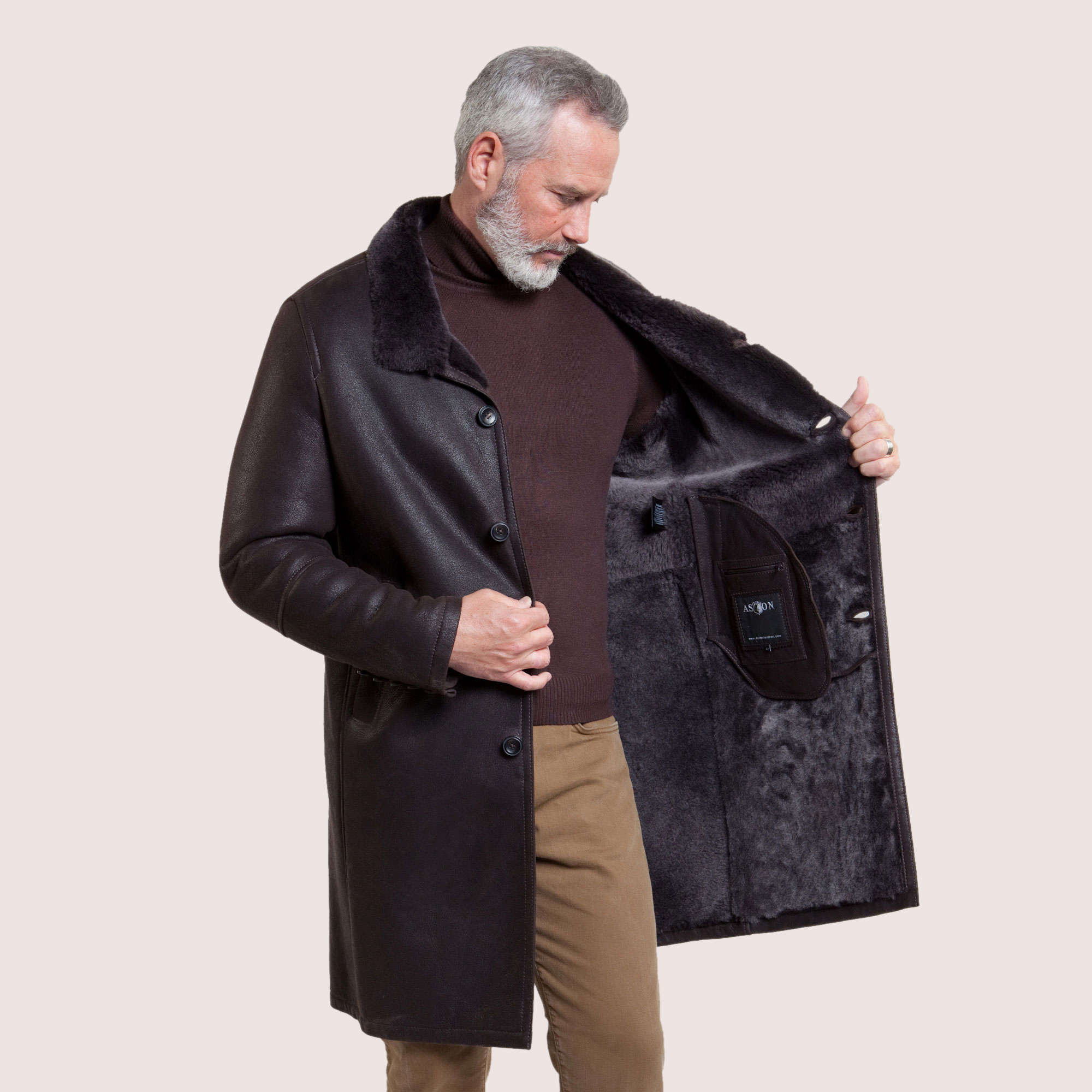 Newburgh Shearling Coat