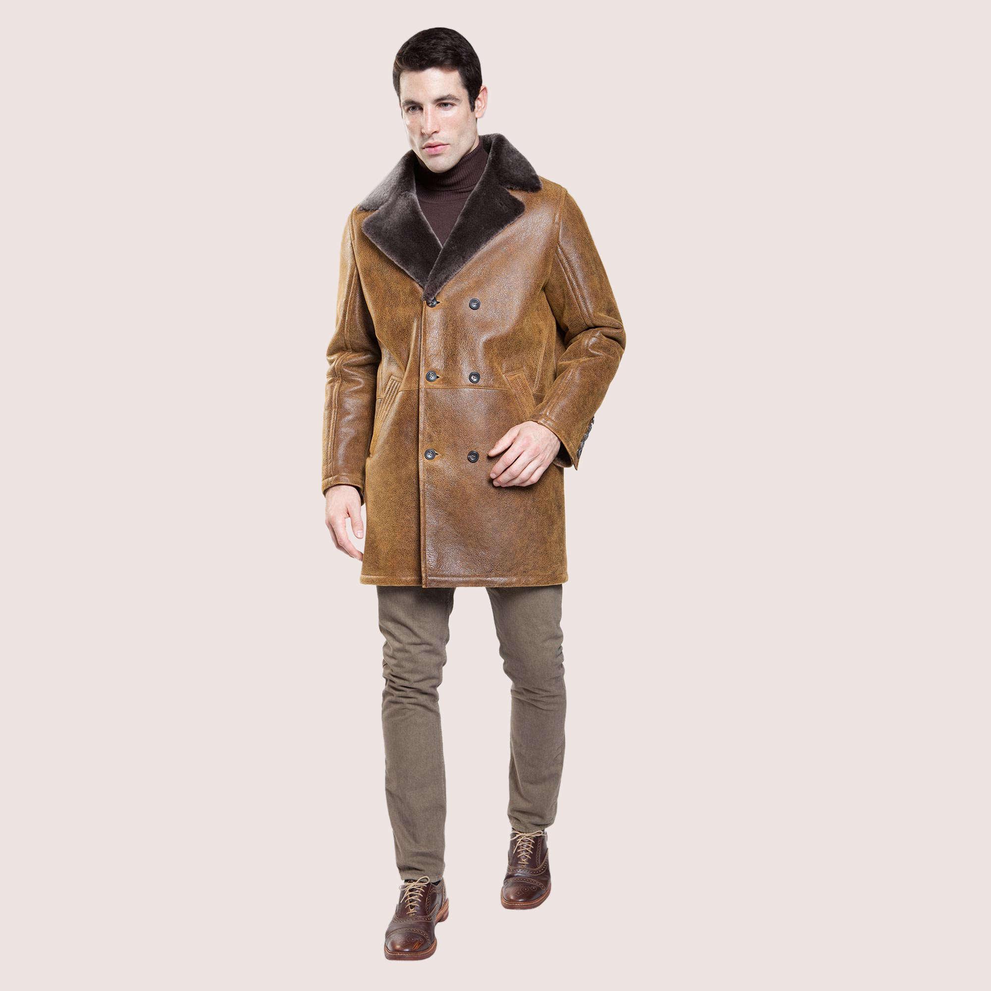 Carson Shearling Coat