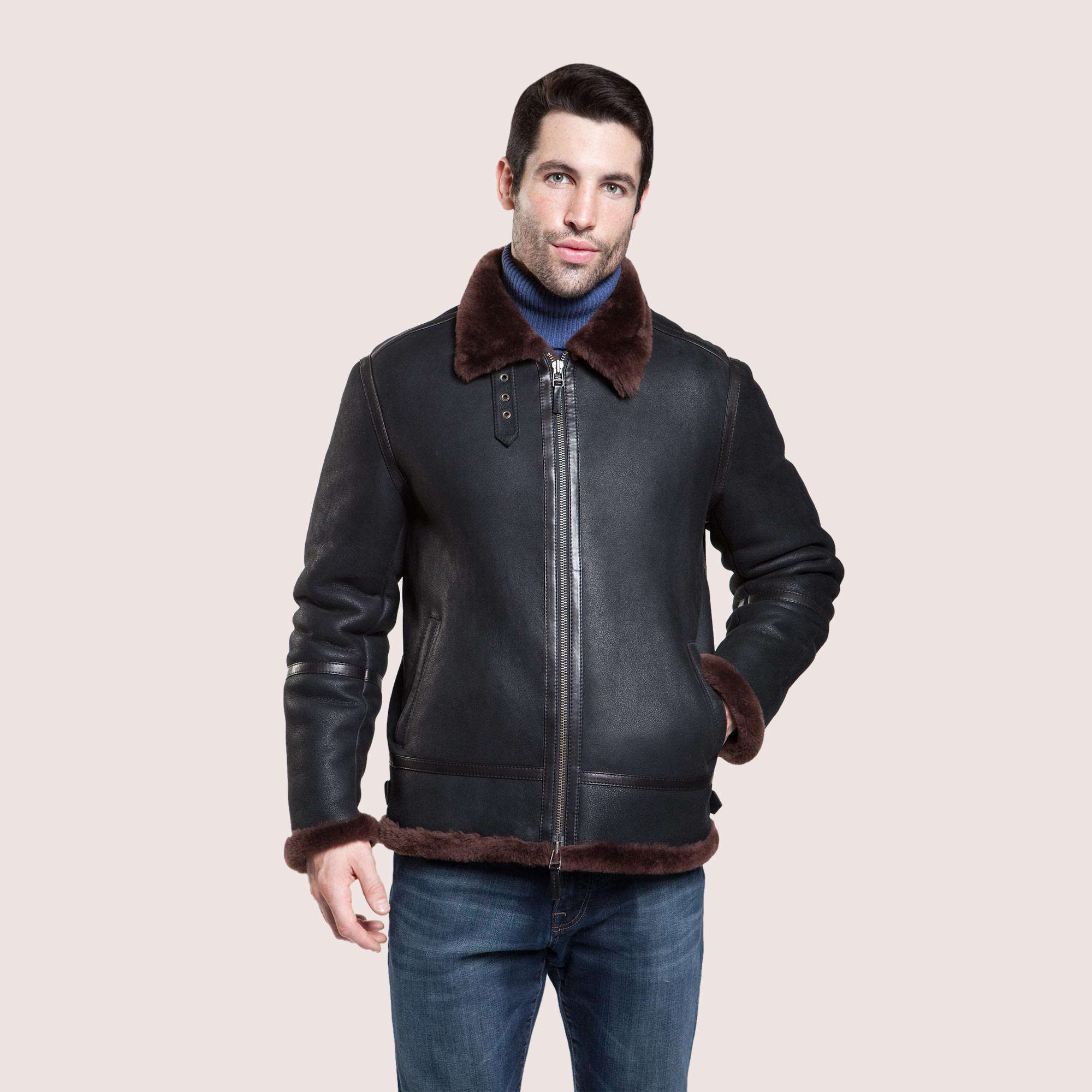 Winfield Shearling Jacket
