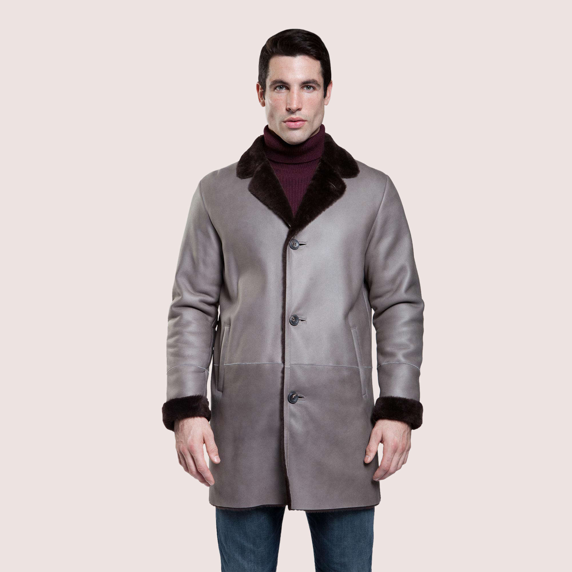Jackson Shearling Coat