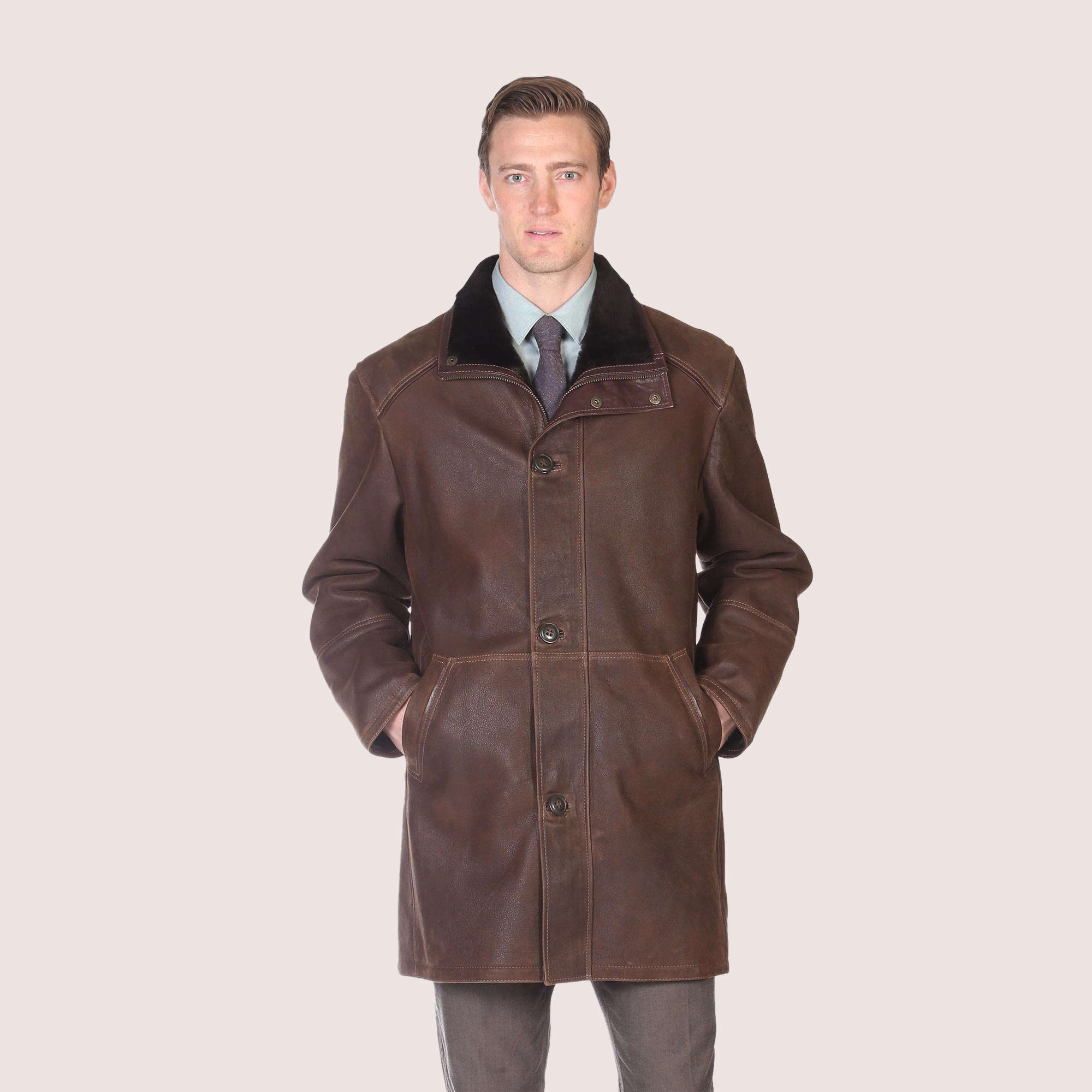 Greenwich Shearling Coat