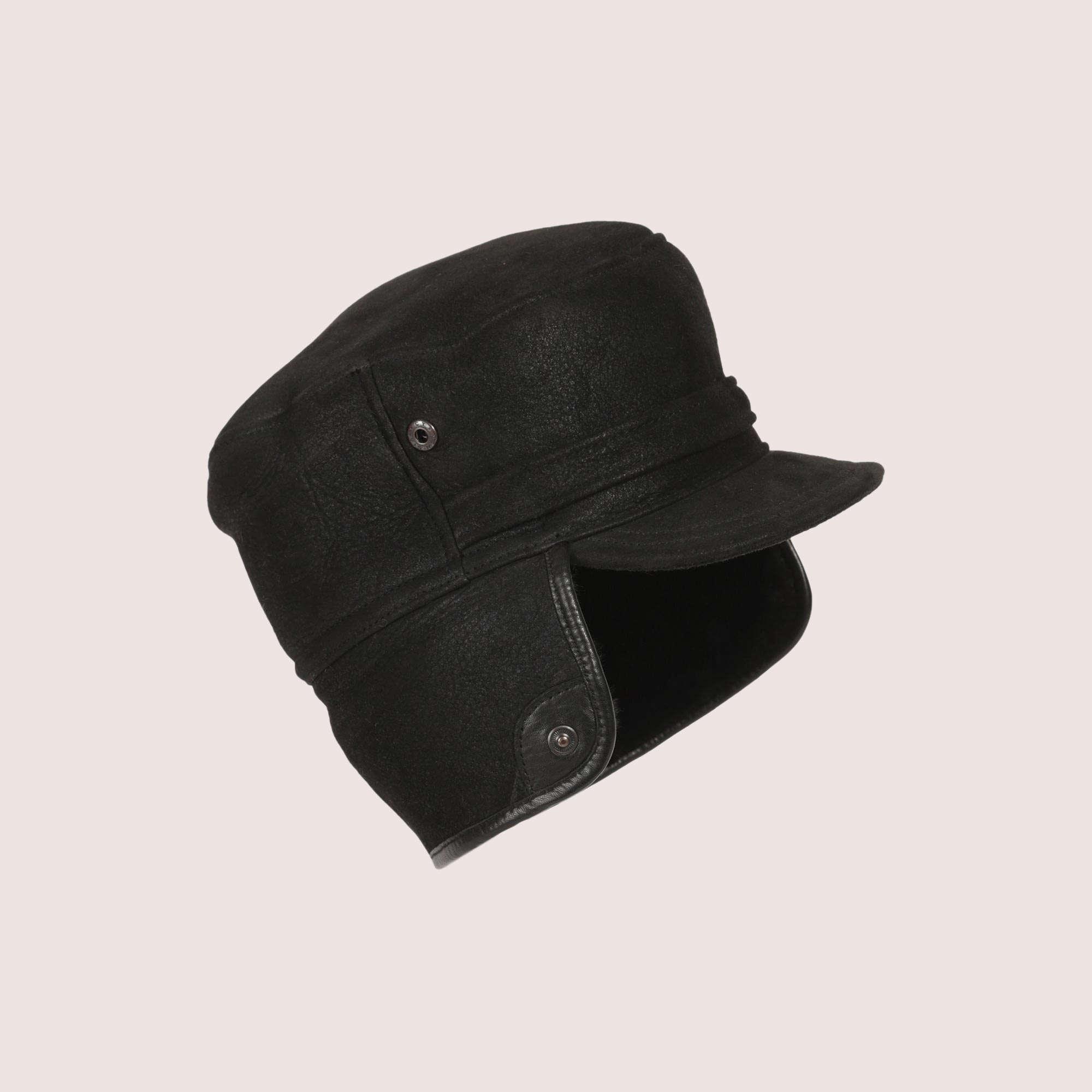 Men's Winnipeg Sheepskin Hat w/ LB Trim