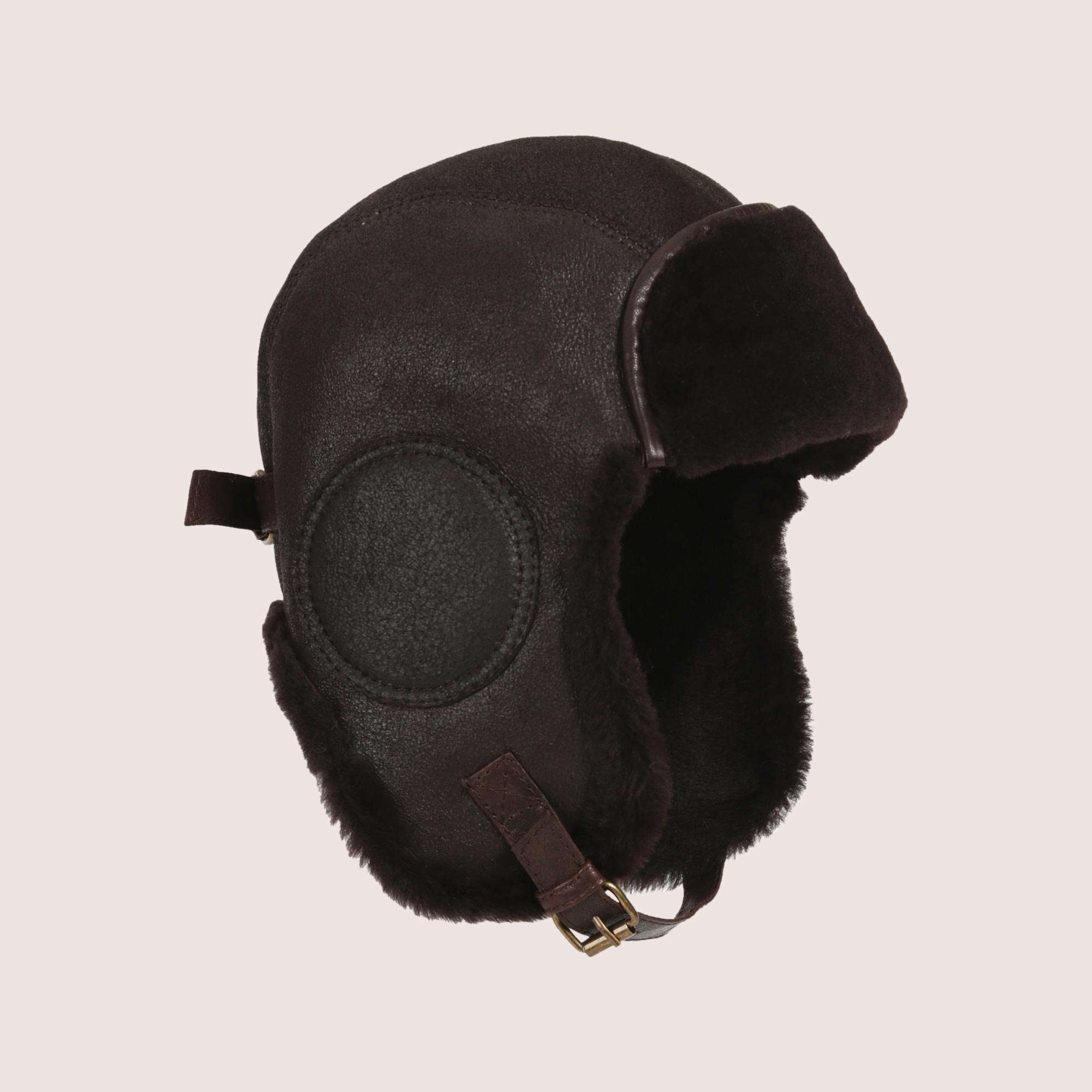 B-52 Aviator's Sheepskin Hat