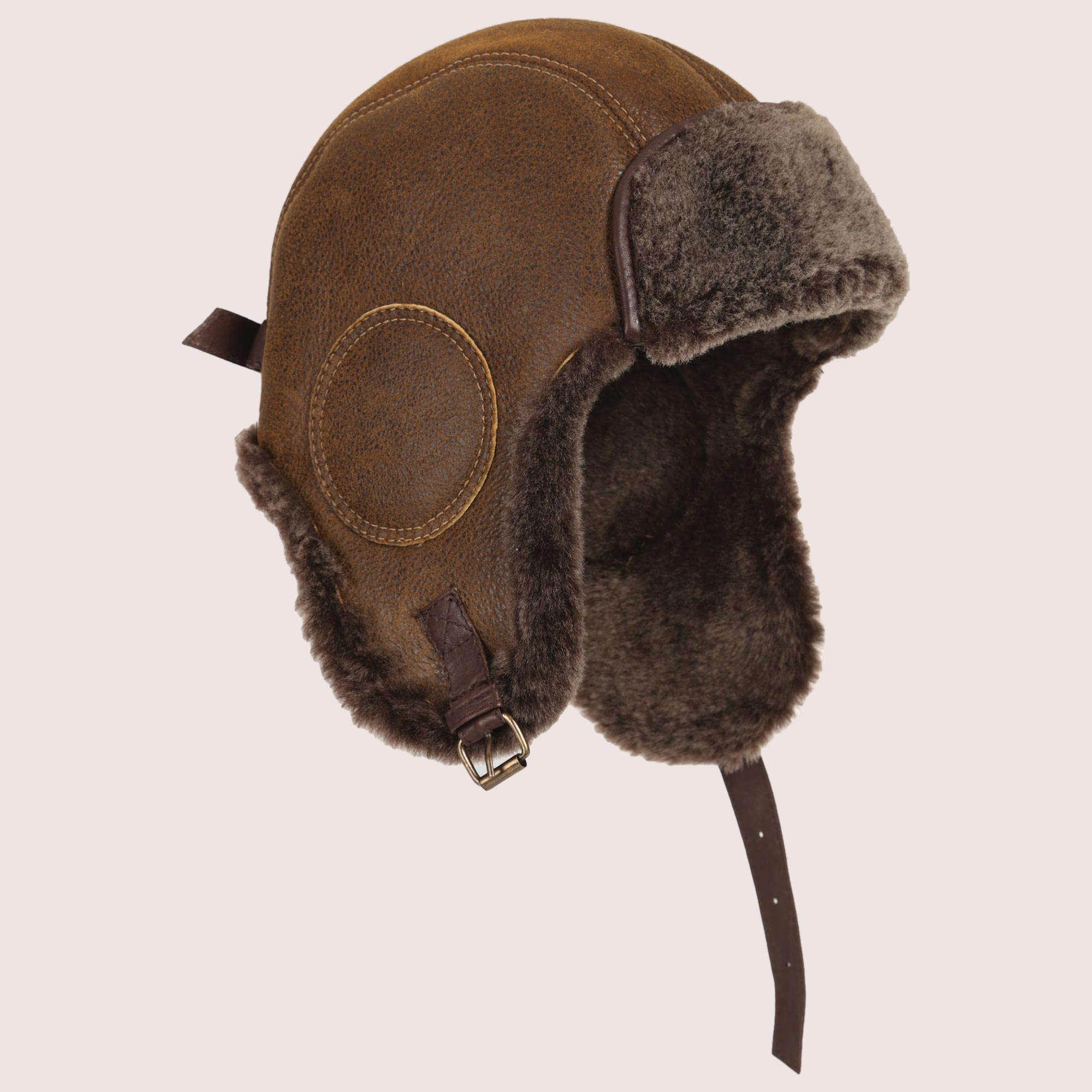 B-52 Aviator's Sheepskin Hat