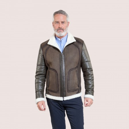 Hudson Shearling& Lambskin Jacket