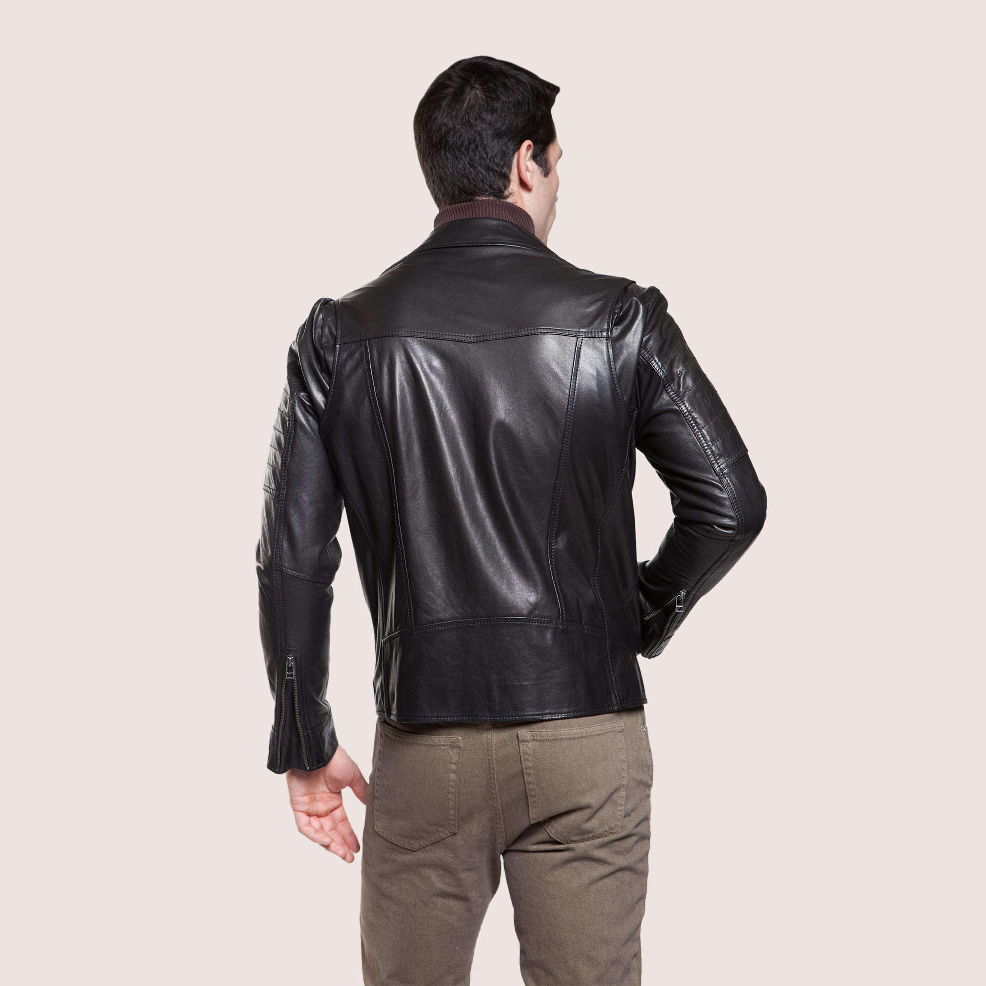 Barcelona Leather Jacket