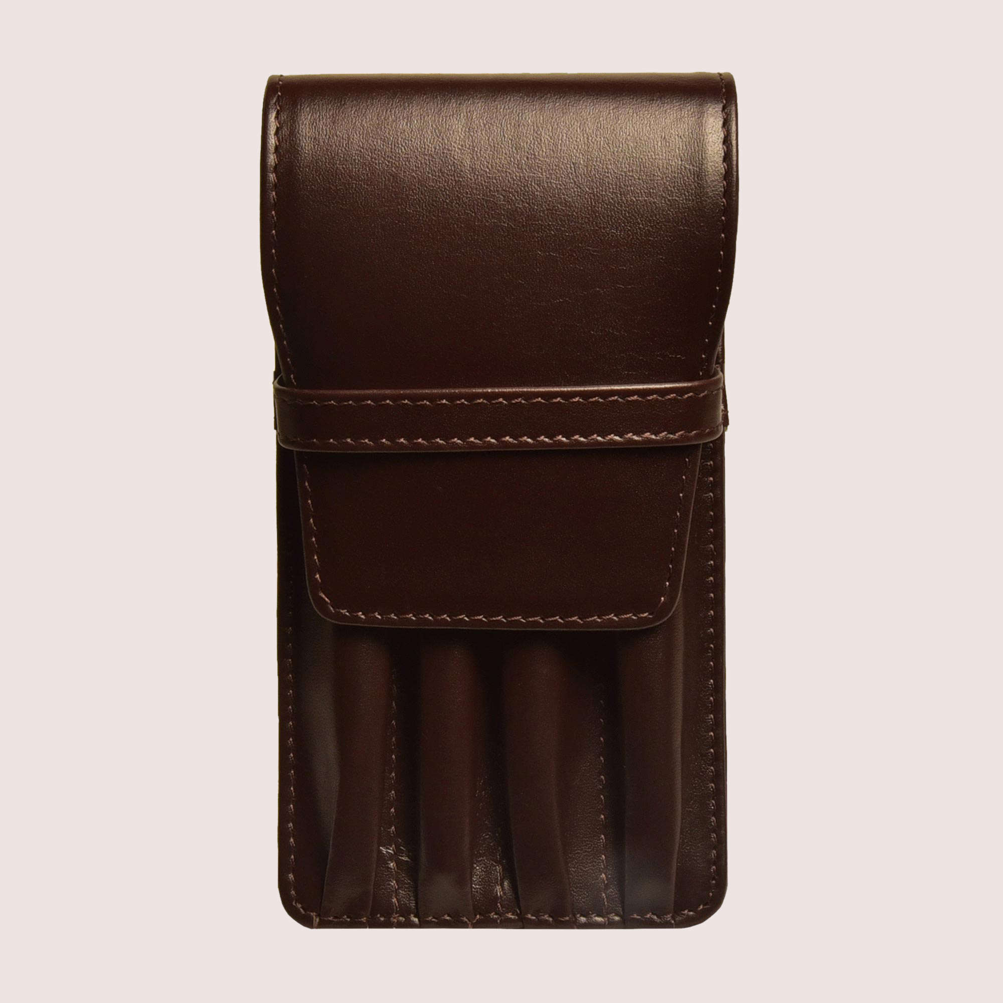Four Pen Leather Case