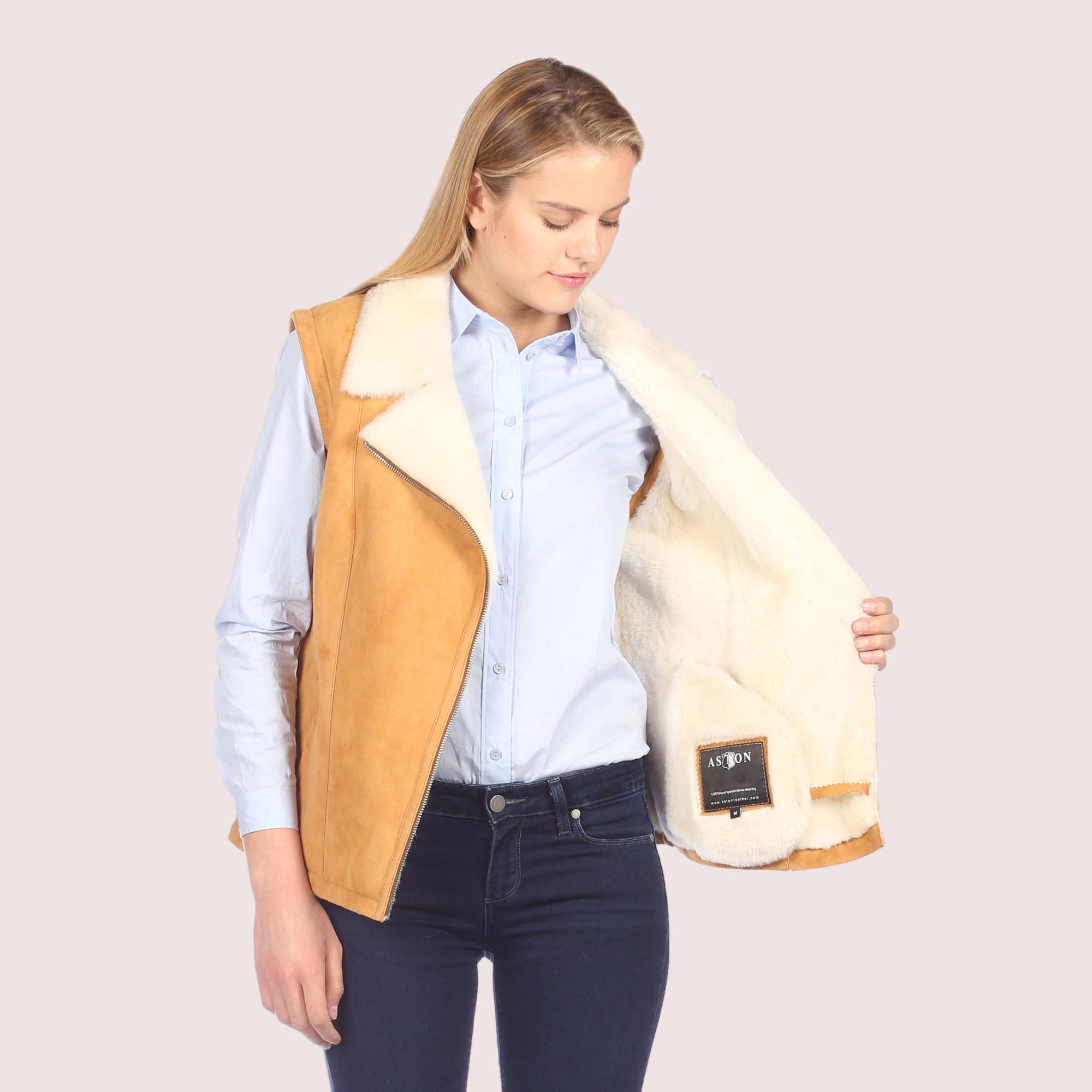 Acacia Shearling Vest