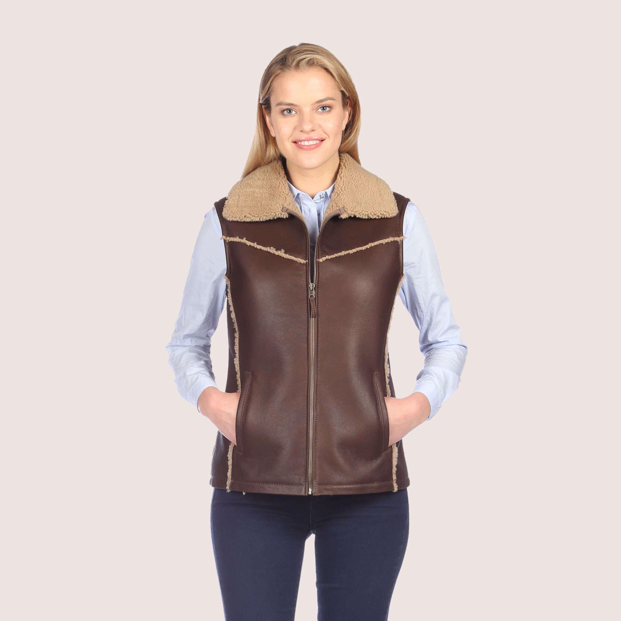 Eve Shearling Vest