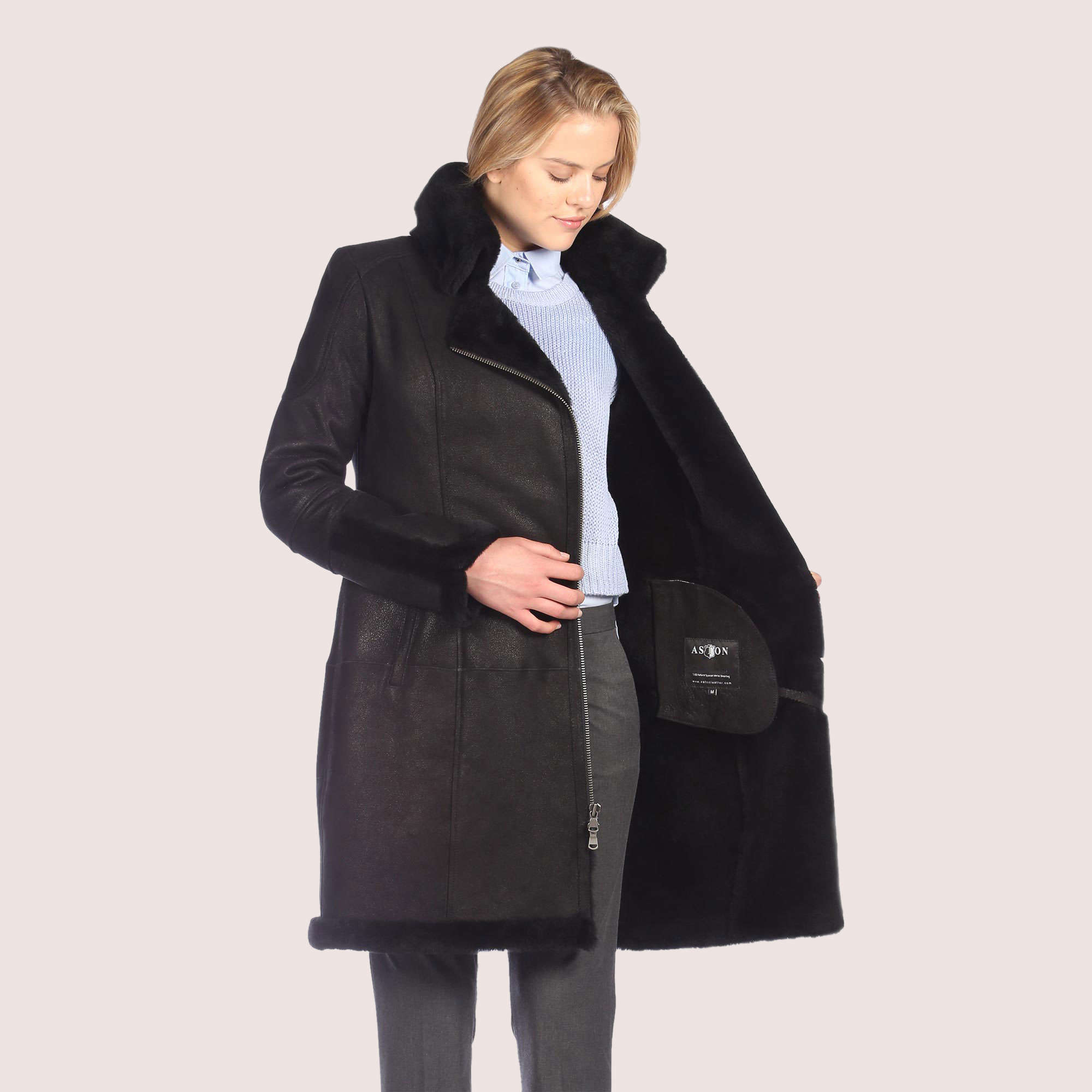 Samantha Shearling Coat