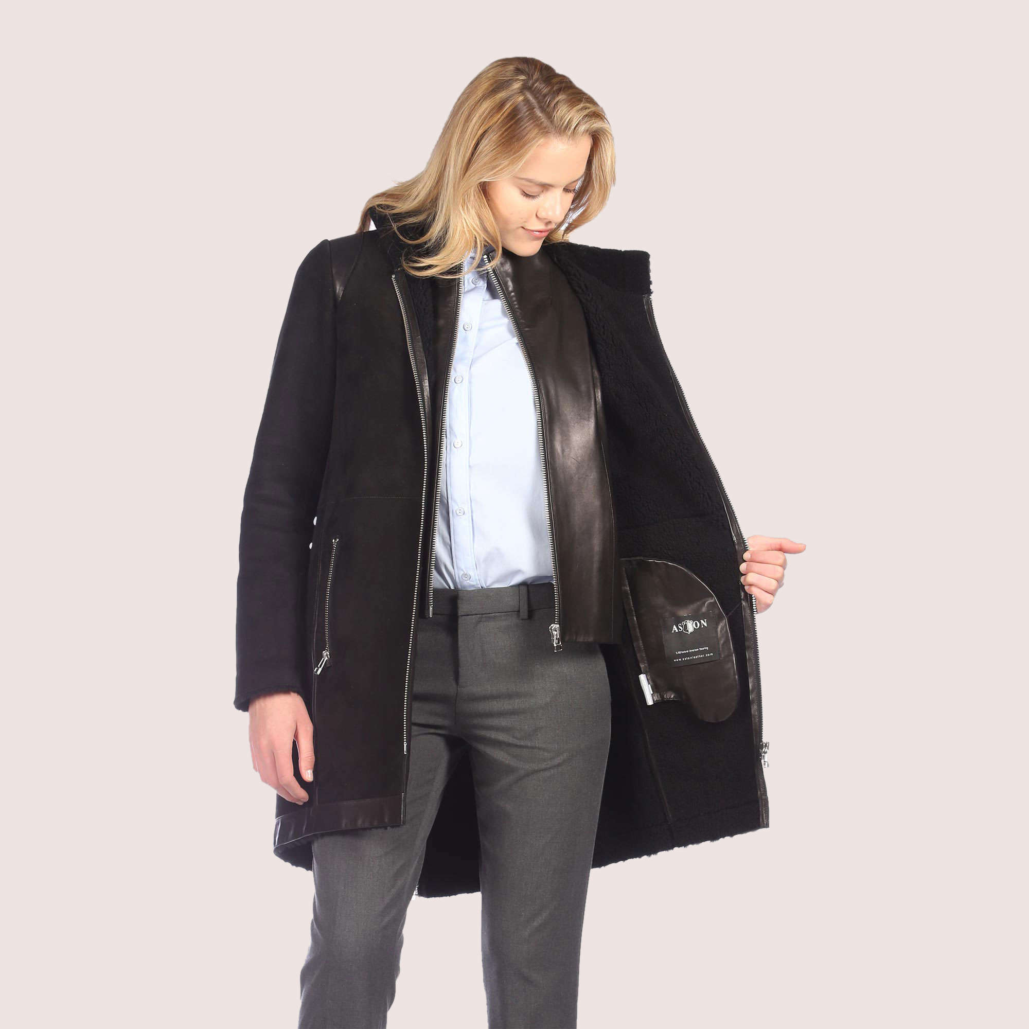 Senna Shearling Coat