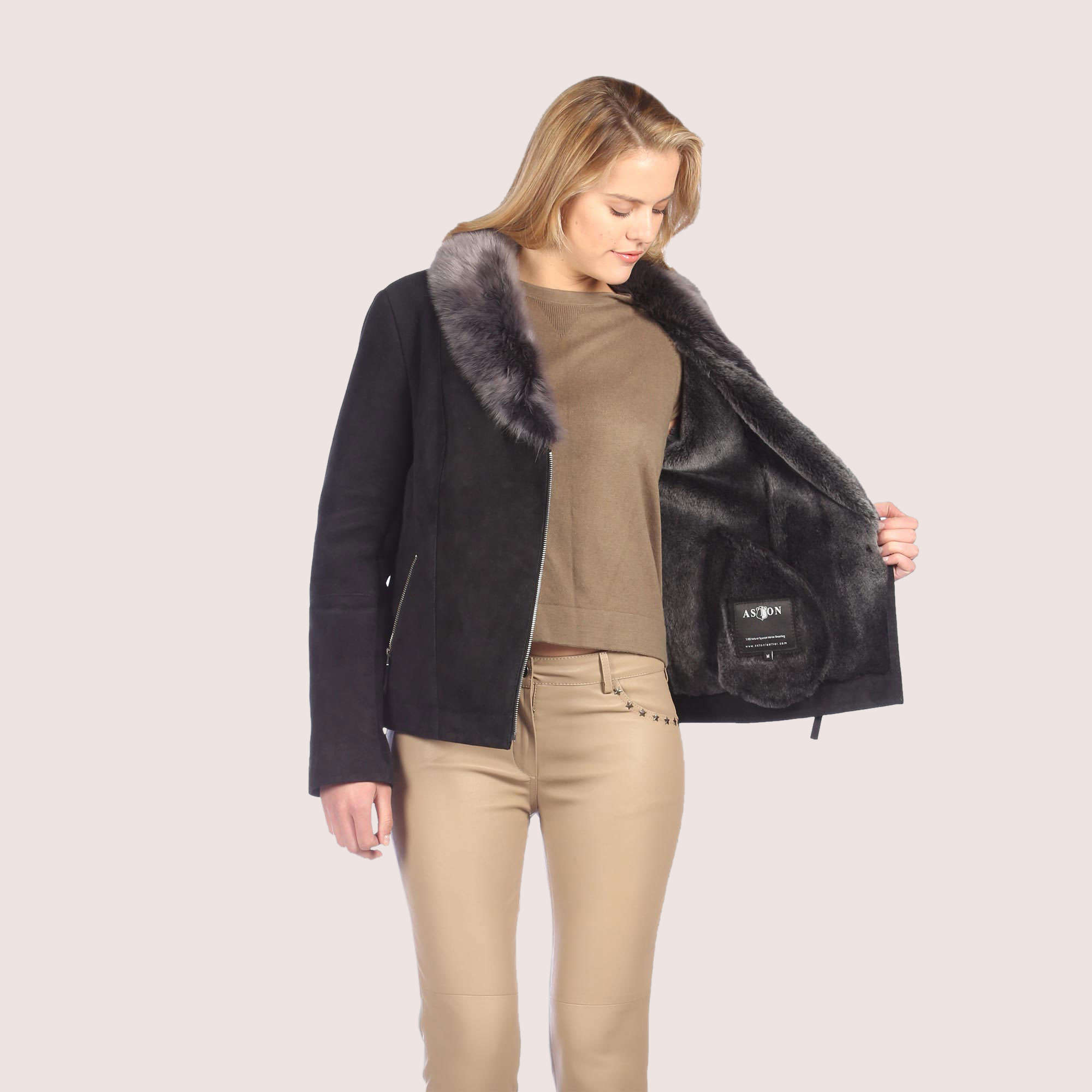 Lacey Shearling Coat