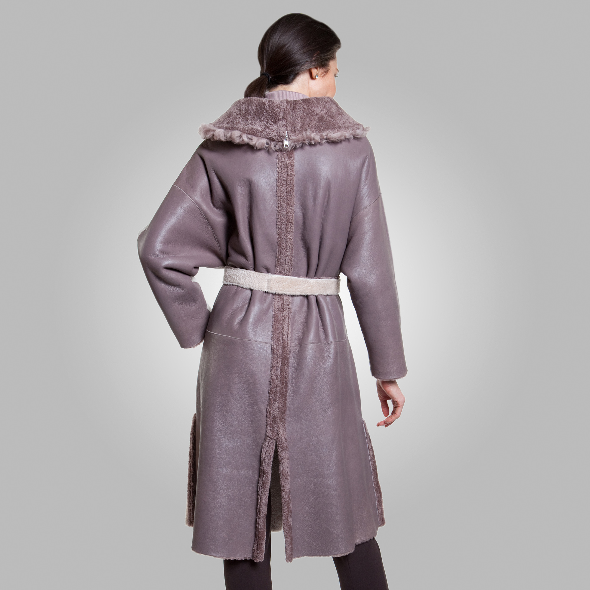 Maya Reversible Shearling Coat