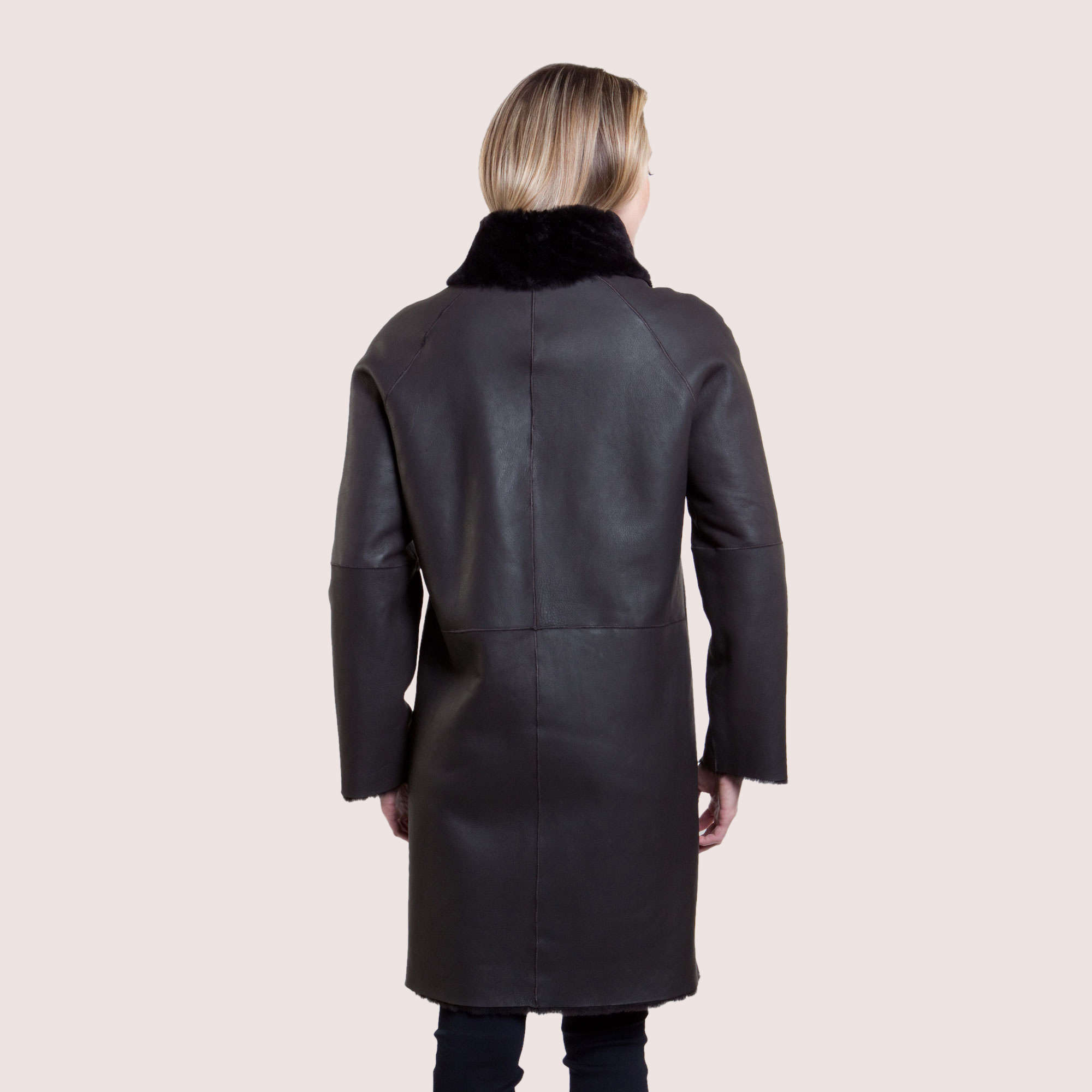 Francesca Reversible Shearling Coat