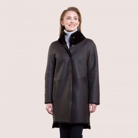 Francesca Reversible Shearling Coat