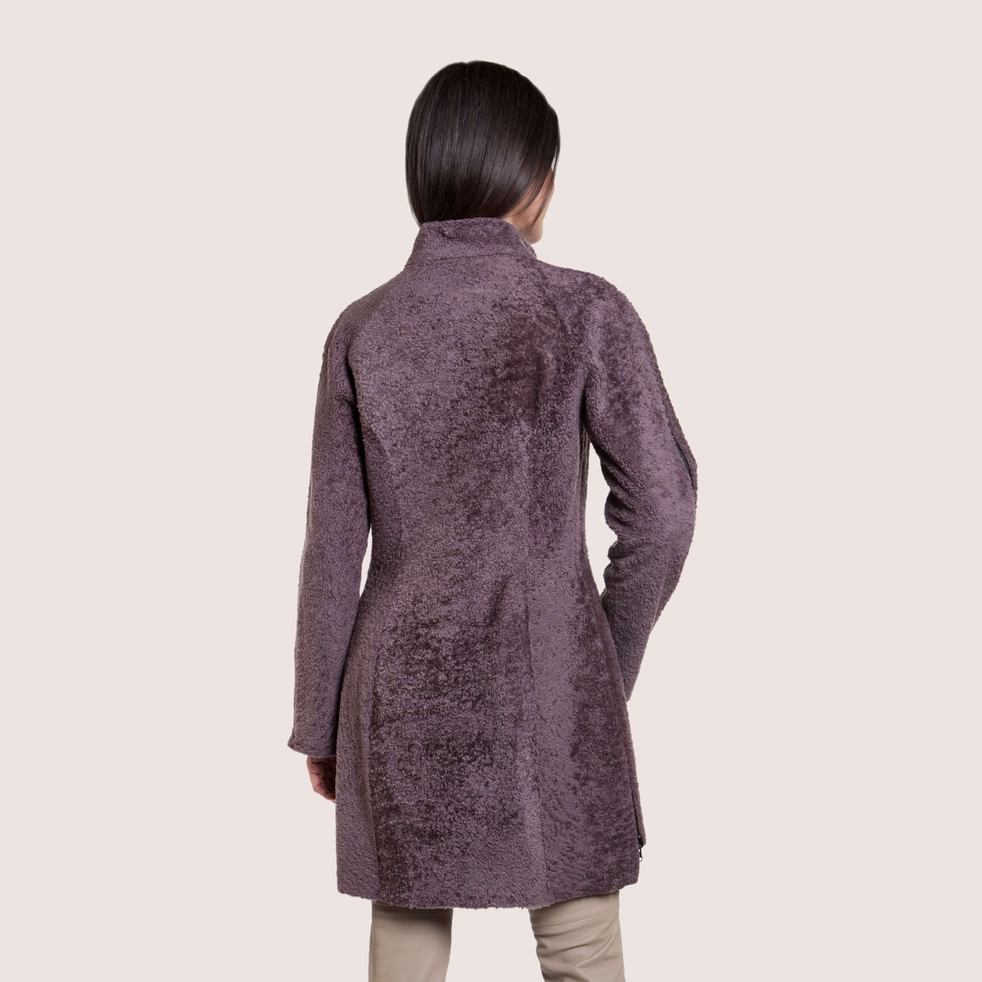 Ariana Reversible Shearling Coat