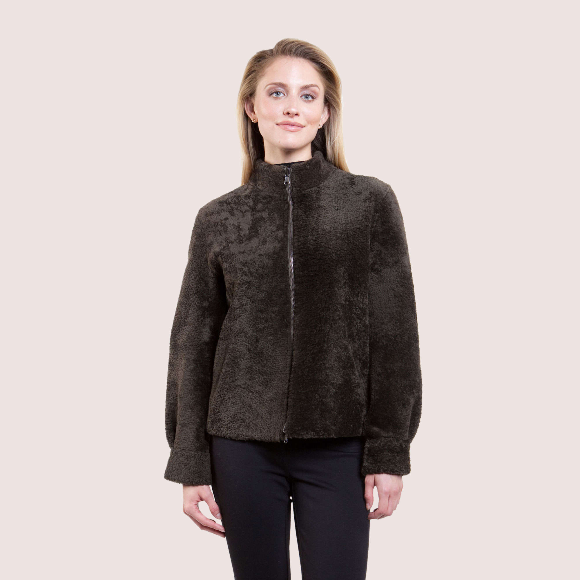 Megan Reversible Shearling Jacket