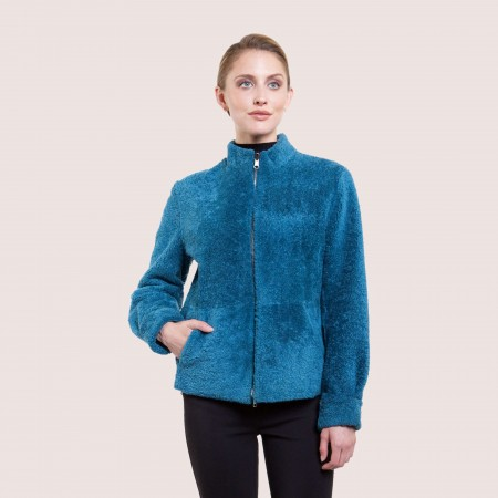 Megan Reversible Shearling Jacket