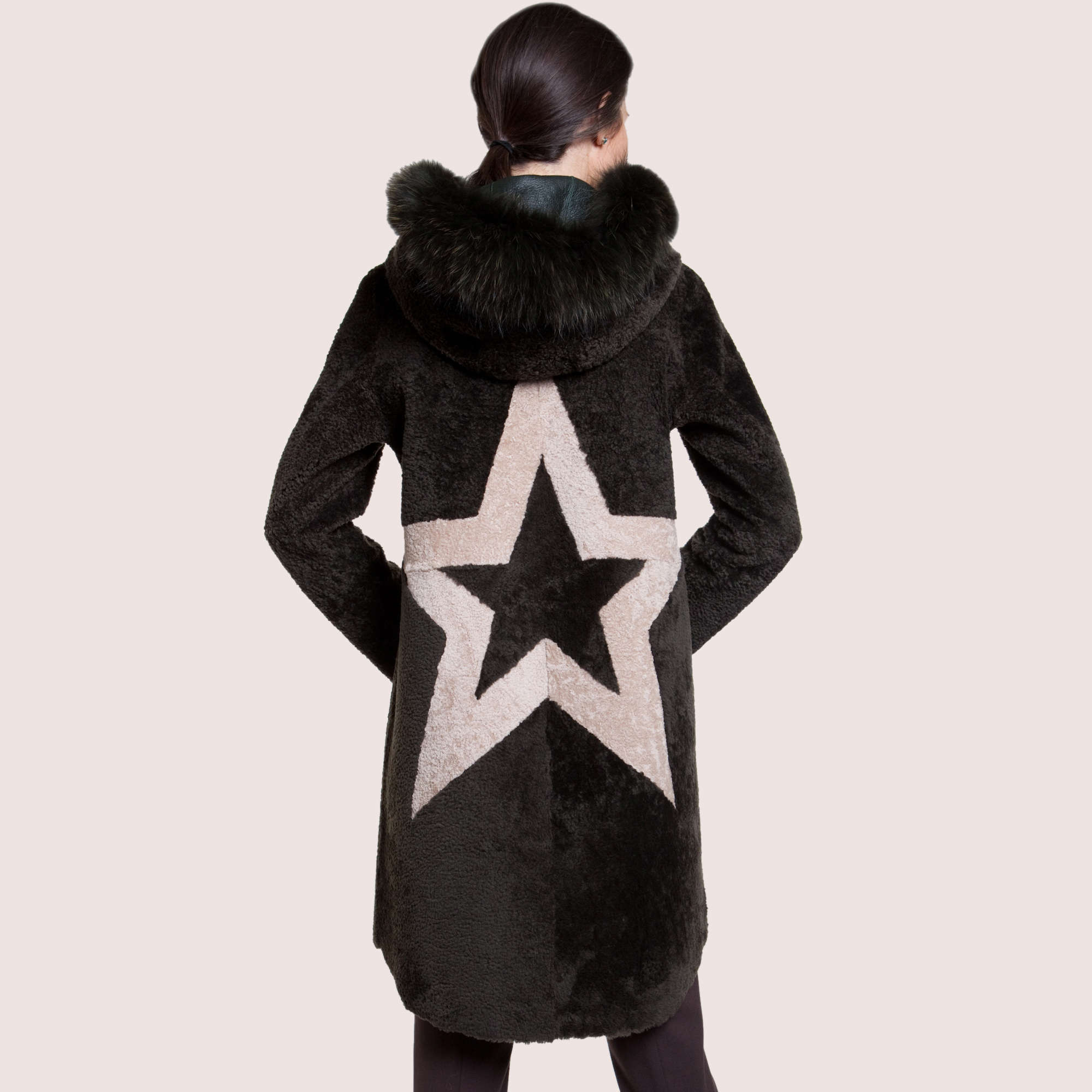 Coraline Reversible Shearling Coat