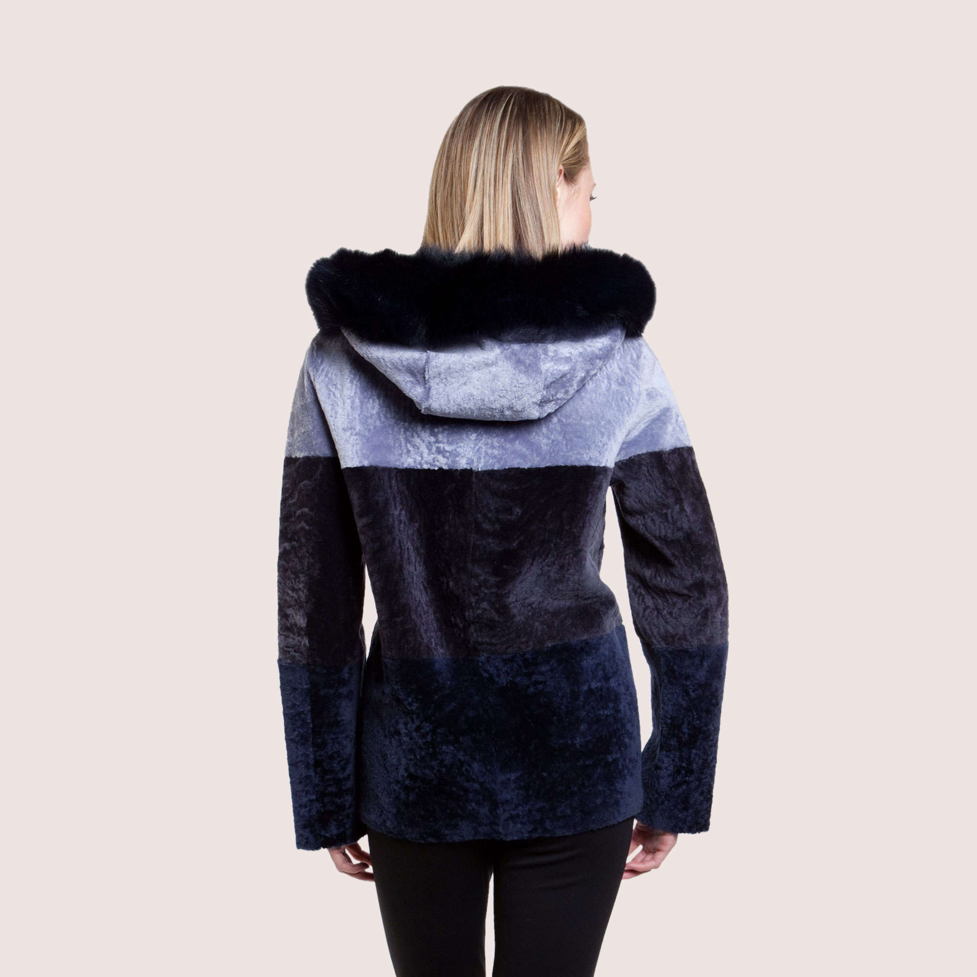 Octavia Reversible Shearling Coat