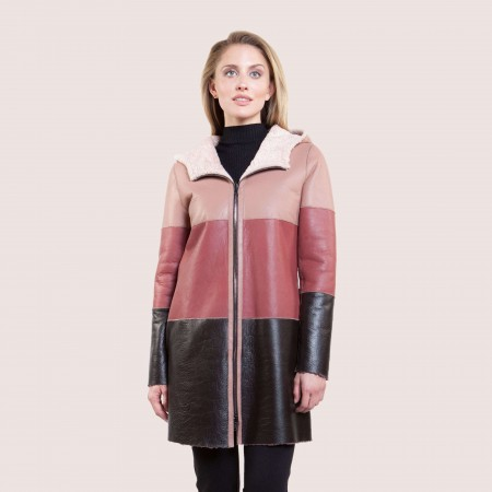 Annabel Reversible Shearling Coat